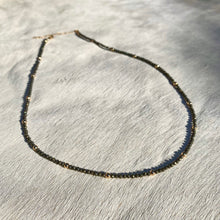 Load image into Gallery viewer, mila necklace (pyrite)