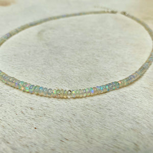 magic opal necklace (smooth)