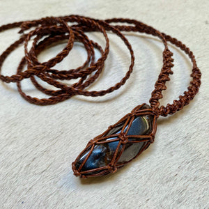 smokey quartz talisman