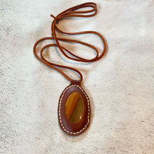 Load image into Gallery viewer, polychrome jasper horizon necklace