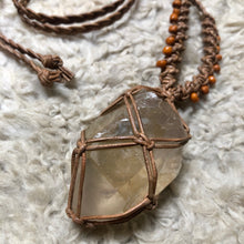 Load image into Gallery viewer, citrine talisman