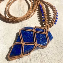 Load image into Gallery viewer, lapis lazuli talisman