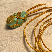 Load image into Gallery viewer, rough turquoise talisman
