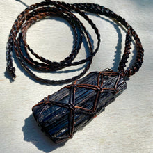 Load image into Gallery viewer, black tourmaline talisman