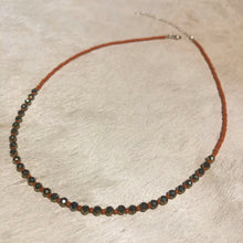 Load image into Gallery viewer, pyrite candy necklace (large)