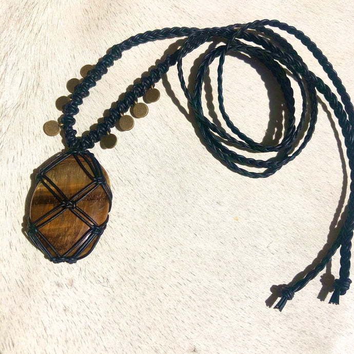 tiger's eye talisman
