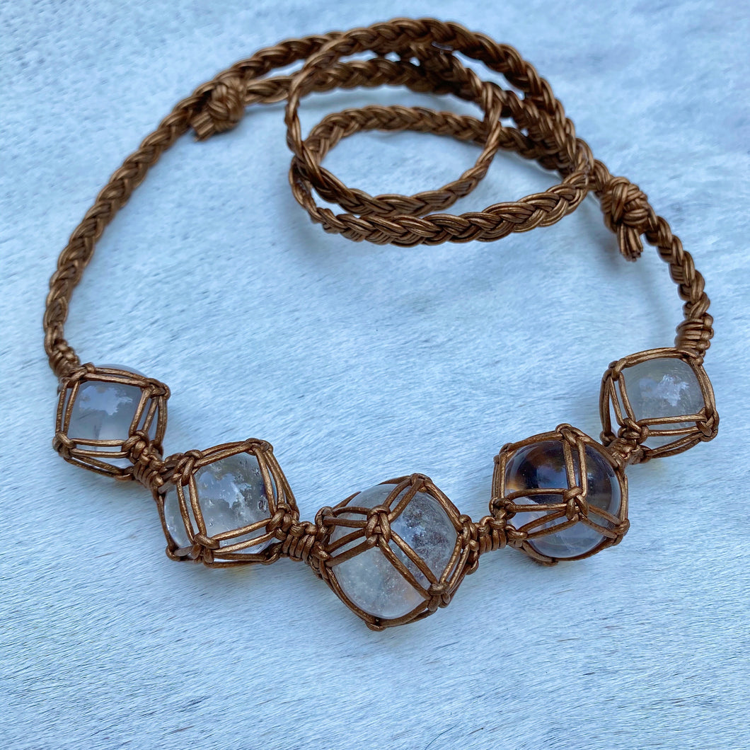 dissent collar (clear quartz)