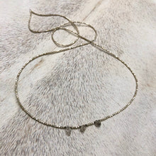 Load image into Gallery viewer, silver clarity necklace