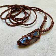 Load image into Gallery viewer, smokey quartz talisman