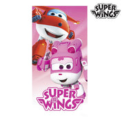Serviette de Plage Rose Super Wings