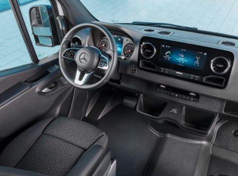 Mercedes Sprinter top-of-the-line features