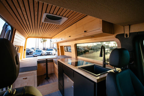 Camper vans that have the look and feel of home