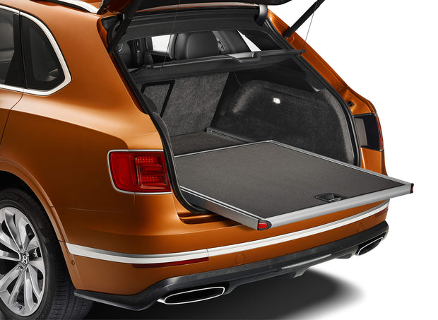 Bentayga Load Assist Tray W/Carpet Insert