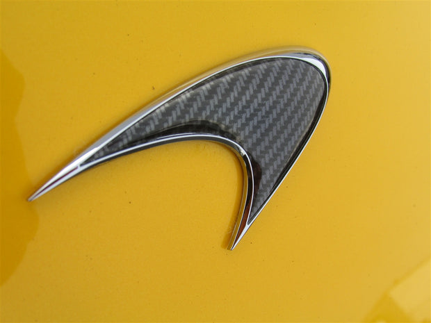 Mclaren Front Badge Carbon