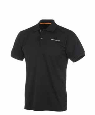 McLaren Men's Black Polo Shirt