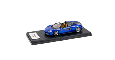 1:43 McLaren 570S Spider in Vega Blue