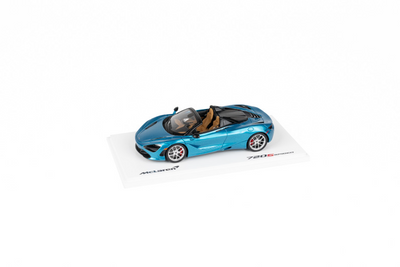 1:43 McLaren 720S Spider Belize Blue