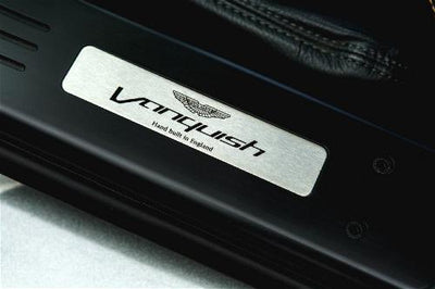 Aston Martin Personalized Sill Plaque
