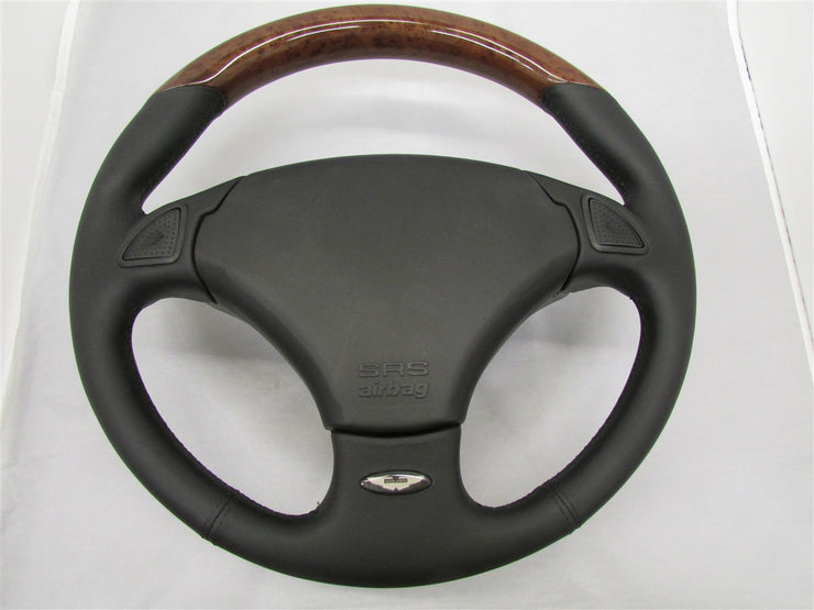 Aston Martin DB7 Leather Steering Wheel (Elm Black)