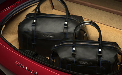 New Vantage Four Piece Luggage Set - Leather
