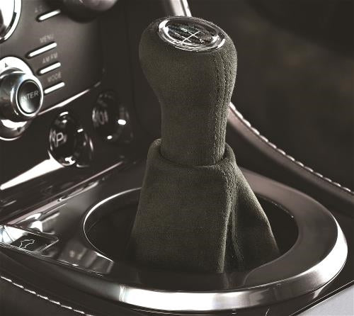 Aston Martin Alcantara Gear Knob with Carbon Trim