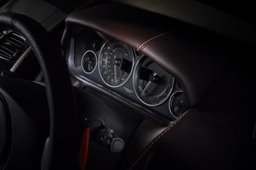 Aston Martin Carbon Fiber Instrument Surround