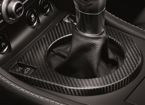 Aston Martin Carbon Fiber Gear Shift Surround