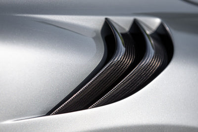 600LT MSO Defined Carbon Fiber Front Fender Louvres Kit