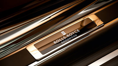 Rolls-Royce Personalized Text Treadplates