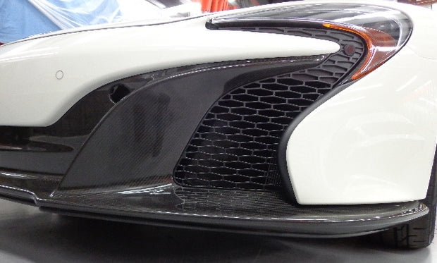 Mclaren 650S Front Carbon Spoiler Protection Kit