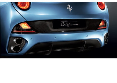 Ferrari California Titanium Exhaust Tips