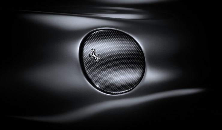 Ferrari 458 Carbon Fiber Fuel Door