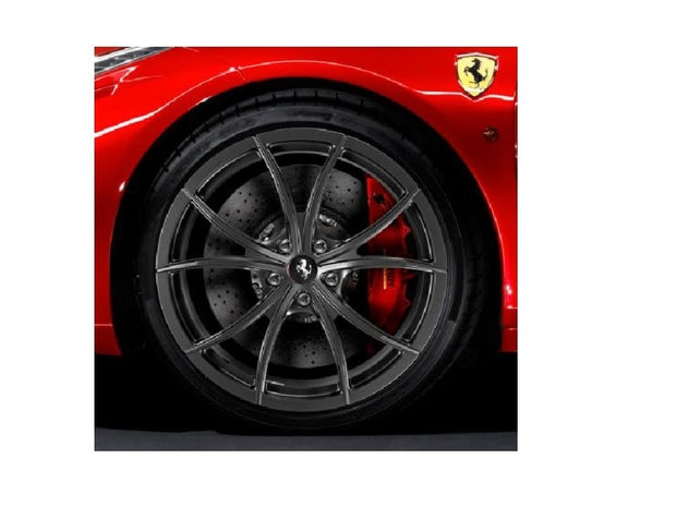 Ferrari 458 Forged Multi-Spoke Wheels