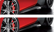Ferrari 458 Carbon Fiber Side Skirts