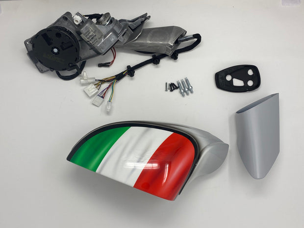 Ferrari Genuine 458 Tricolori Rear View Mirror Kit