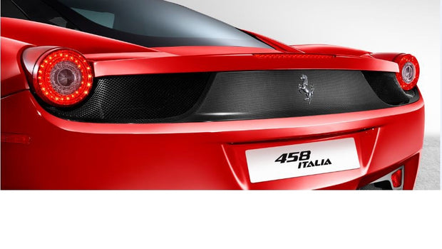 Ferrari 458 Carbon Fiber Rear Bumper Strip