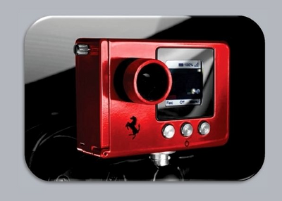 Genuine Ferrari Data-race Camera