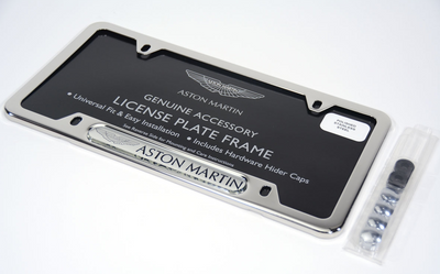 Aston Martin License Plate Frame Surround