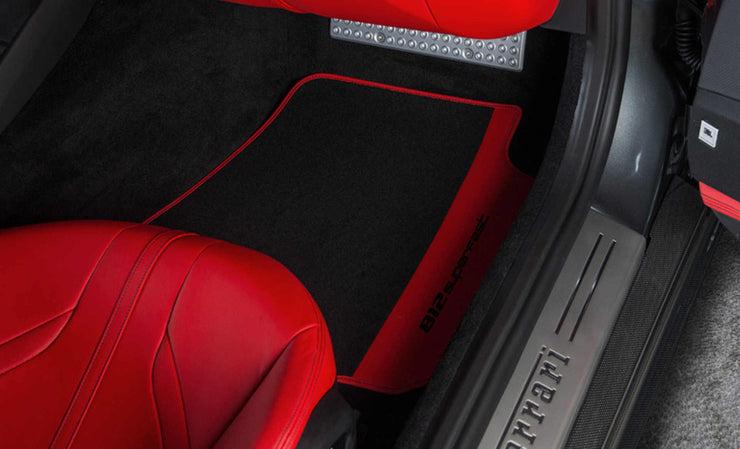 Ferrari 812 Superfast Colored Over Mats with Vehicle Logo