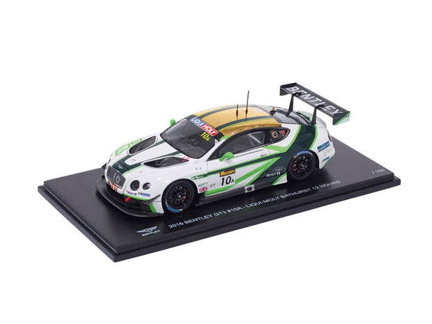 Bentley 1/43 GT3 2016 Bathurst Diecast Model Car