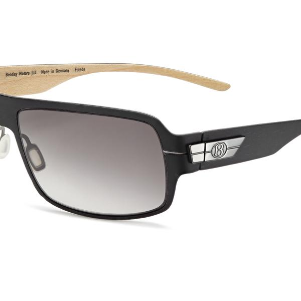 Bentley Wood Veneer Sunglasses - Dark Tint