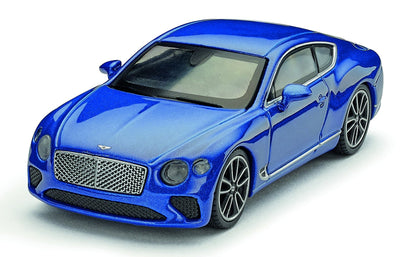 Bentley Continental GT 1:64 Scale Model, Sequin Blue