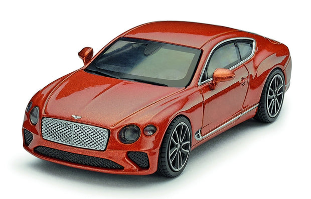 Bentley Continental GT 1:64 Scale Model, Orange Flame