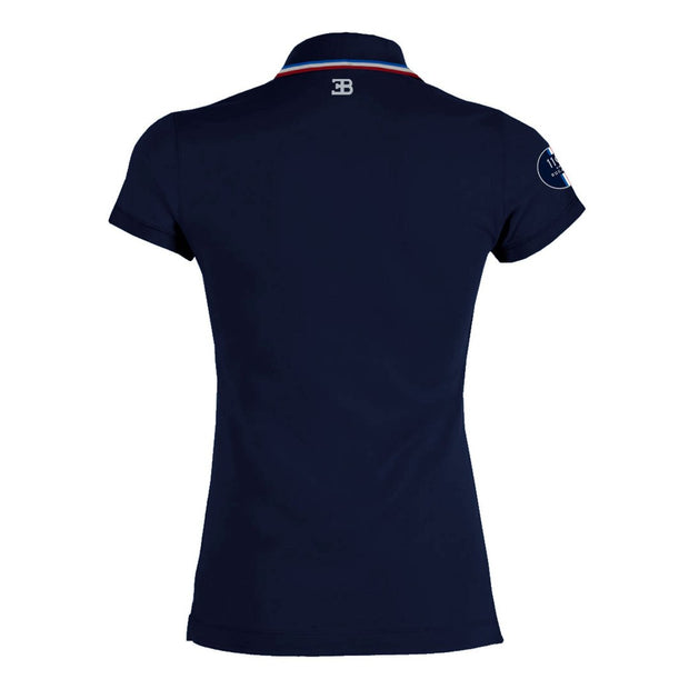 Bugatti Women's '110 Ans' Navy Polo