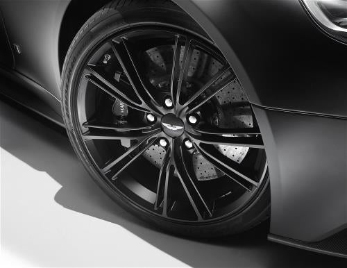 Aston Martin 20 Inch 20 Spoke Satin Black Wheel Kit