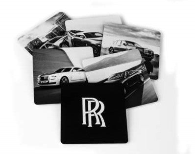 Custom Aluminum Coaster Set of 6