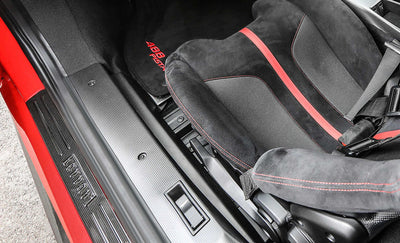 Ferrari 488 Interior in Carbon Fiber, Internal Sill Moulding