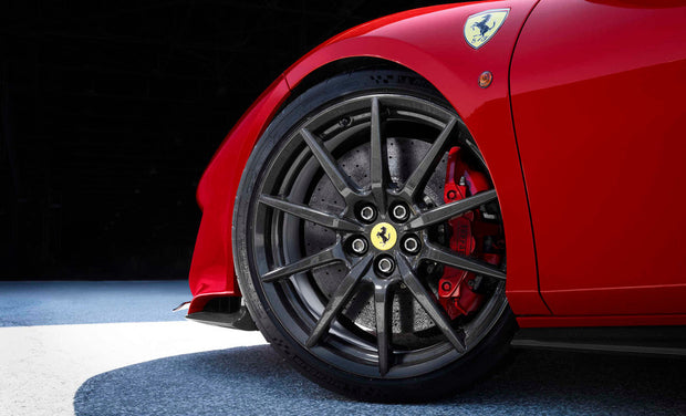 "Ferrari F8 Tributo 20"" Carbon Fiber Wheels"