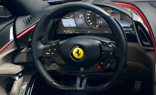 Ferrari Roma Carbon Fiber F1 Shift Paddles