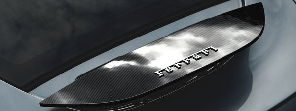 Ferrari Roma Carbon Fiber Rear Variable Geometric Wing